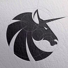 Logo Design Inspiration Discover Awesome and Creative Branding Design Ideas by Goran Jugovic Creative Branding Design Ideas Logo D'art, Art Logo, Graphisches Design, Brand Design, Design Ideas, Design Color, Creative Design, Beste Logos, Unicorn Logo