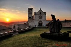 Assisi, Italy. Beautiful medieval town.