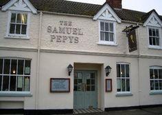 Samuel Pepys - High Street, Huntingdon, Cambs