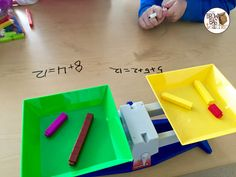 wrote each side of the balance in terms of numbers.  - The Brown-Bag Teacher: Using Cuisenaire Rods