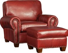 Mayo 176 Chair & Ottoman - Encore Sequoia