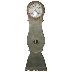 Blue Swedish Clock circa 1820