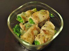常備菜 : 菜の花の豚肉巻き*雑誌「うかたま」より