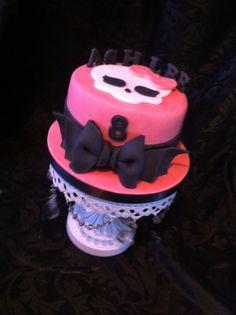 Monsters high birthday cake