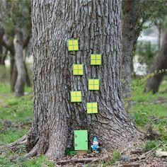 Gnome Craft Tutorial: Make Your Own Gnome Tree House House & Garden gnome houses for the garden Cool Diy Projects, Diy Crafts For Kids, Craft Ideas, Summer Garden, Home And Garden, Garden Fun, Beautiful Fairies, Fairy Doors, Gnome Garden