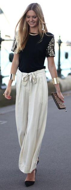 Jessica Stein, embellished sleeves