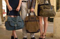 Collection de sacs moyen haut gamme femme et homme, fonctionnel, original et vintage