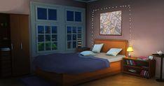 Fancy Bedroom, Comfy Bedroom, Bedroom Night, Small Room Bedroom, Episode Interactive Backgrounds, Episode Backgrounds, Bedroom Designs Images, Casa Anime, Living Room Background