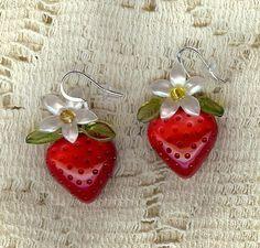 strawberry jewelry - Google Search