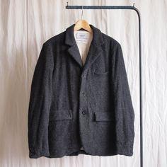 Washed Jacket #charcoal
