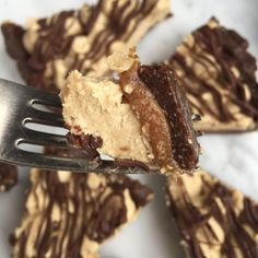 Super Healthy Snickers Pie