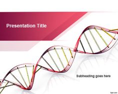 Free Genetic Science PowerPoint Template | Free #medical #Powerpoint #templates