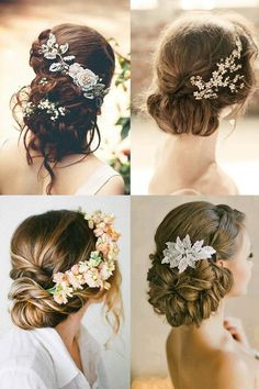 Hair flowers for wedding