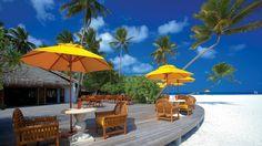 Playa tropical de lujo - 1920x1080