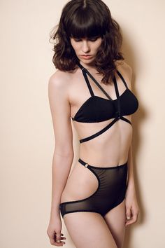 """Sexy lingerie that doesn't rely on the traditional trappings of """"sexy"""", by Hopeless Lingerie"""