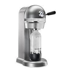 KitchenAid™ Sparkling Beverage Maker Powered by SodaStream® in Contour Silver