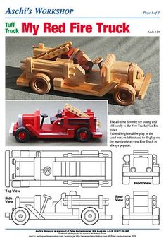 Wooden toys plans Gluten Free Recipes q bar gluten free Wooden Toy Trucks, Wooden Car, Making Wooden Toys, Wood Toys Plans, How To Make Toys, Metal Toys, Wooden Crafts, Diy Toys, Toys For Boys