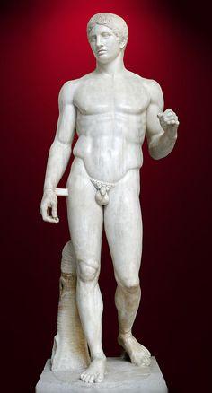 Doryforos (niosący włócznię) Poliklet