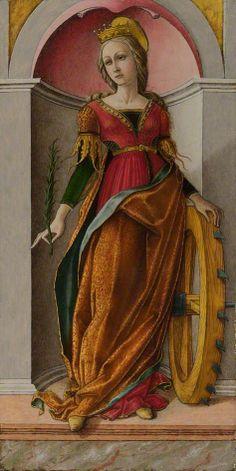 Italian Renaissance ~ Saint Catherine Of Alexandria