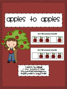 Apple Math Work Station Missing Numbers 0-30. Students will identify the missing number on each work mat and place the correct number card in the blank space.
