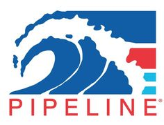 PIPELINE® Clothes & Gear, Classic logo, created in 1979. inspired by the world famous Pipeline surf break, located on the North Shore of Oahu,