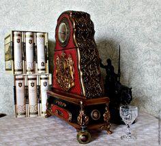 Купить часы настольные каминные королевские - часы, часы интерьерные, часы ручной работы