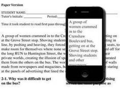 Phone E-readers Easier for Dyslexics | Dyslexia & Technology | Scoop.it
