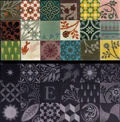 Emery & cie - Fr - Quoi - Carrelages - Ciment - Modèles - Patchwork - Commandes