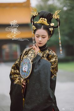 微博 Hanfu, Chinese Style, Traditional Chinese, Asian Fashion, Chinese Fashion, Chinese Clothing, Fantasy Dress, Portraits, Chinese Culture