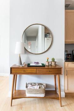 west elm mid century console table - Поиск в Google
