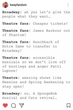 A friend of mine was in a show with James Barbour and her dad was talking about it to me and a few friends after we saw him in Phantom. It kinda makes me sad. The while situation.