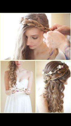 Adorable hair style, love it!!