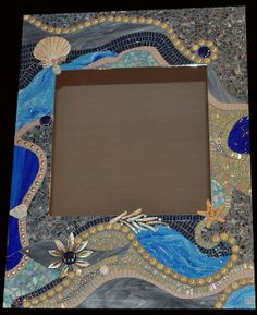 Result For Mosaicsbyjill P7hg Img 2 Fullsize Blue Stained Mirror With Shadow Frame Fs