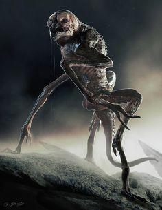 http://rasty690.deviantart.com/art/3D-Creature-Design-The-Alien-Rock-Grubber-476384086