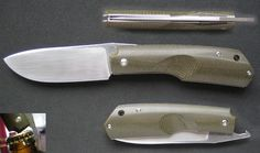 Tic-tac Pchit | Philippe Jourget Couteaux - Knives