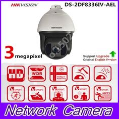 1518.00$  Buy here  - Hikvision DS-2DF8336IV-AEL 3 Megapixel series Smart IR PTZ Camera PoE 200m IR 36X Optical Zoom Smart Detection Tracking PTZ