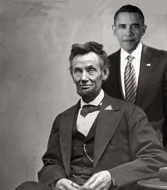 Two presidents that were deeply hated by racist bigots. Each were for the common man and against those that would suppress the people in the name of profit.