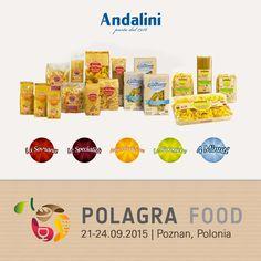 Andalini a Polagra Food 2015   Andalini News www.andalini.com