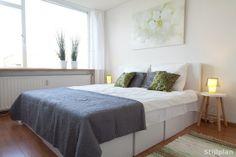 Slaapkamer ingericht met #Kartonnen meubels. #Kartonnen bed + ...