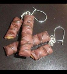 Σκουλαρίκια Kinder Bueno