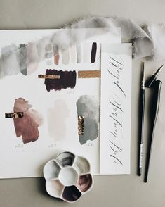 Lovely color moods for fall - burgundy, aubergine, gray and powder rose for an elegant and luxurious palette. Blush Color Palette, Colour Palettes, Color Stories, Color Theory, Graphic, Color Schemes, Color Combinations, Color Inspiration, Wedding Inspiration