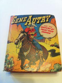 Vintage Gene Autry Book