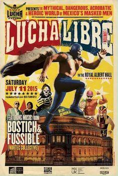 Resultado de imagen para poster lucha libre
