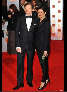 ethical fashion event for Colin Firth and his wife Livia Giuggioli