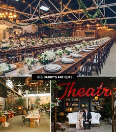 Big Daddy's Antiques Wedding | Coolest Wedding Venues in the US -repinned from Los Angeles County and Orange County ceremony officiant https://OfficiantGuy.com