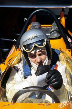 Bruce McLaren 1970 Spain..Engineer and Racing car driver and maker of the McLaren born and bred in New Zealand!