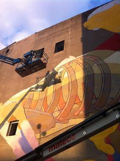 URBAN FORMS GALLERY | OSGEMEOS Official Website - projects and news
