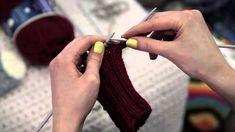 NovitaTube, How to videos (in Finnish), Villasukan kantalapun neulominen Knitting Socks, Hand Knitting, Knitting Patterns, Knitting Accessories, Free Pattern, Knit Crochet, Arts And Crafts, Drop Earrings, Youtube