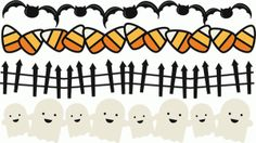 Silhouette Online Store - View Design #48841: halloween borders