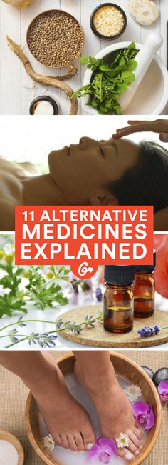We've put together a guide to some of the most popular alternative physical therapies working their way into the mainstream. #alternative #health #medicines http://greatist.com/health/alternative-medicine-therapies-explained